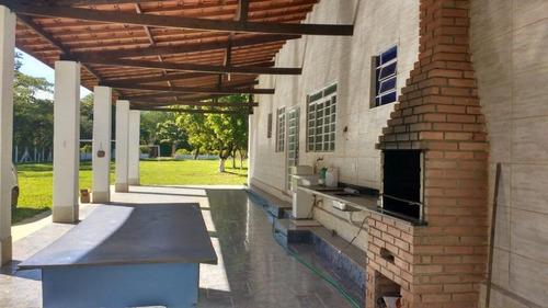 Chácara Residencial À Venda, Recreio Recanto Feliz, Cosmópolis. - Ch0326