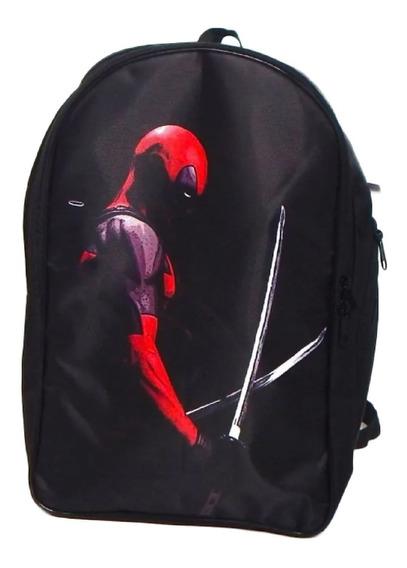 Deadpool 2 Mochila Backpack Katanas Wade Dp2
