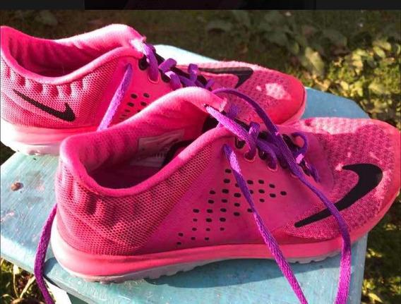 Zapatillas Nike Fuccias 39 Usadas Muy Lindas.!! Traídas Eeuu