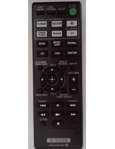 Remoto 7054 Para System Som Sony Mhc-gpx33 Gpx55 Gpx77 Gpx88
