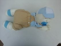 Boneco Articulado Bebê Engatinhando