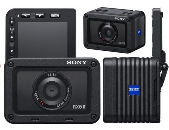 Câmera Sony Rx0 Ii 2 - Nova - Completa - Garantia + Brinde