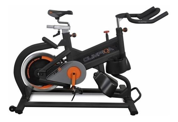 Bicicleta Fija Spinning Ejercicio Torsion 25kg Olimpiqa Ts5