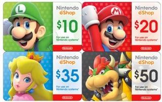 Eshop Nintendo Codigo Digital