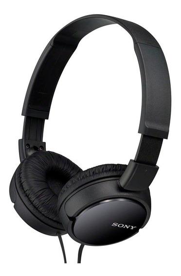 Fone De Ouvido Headphone Original Sony Mdr-zx110 - Preto