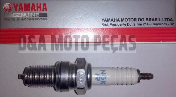 Vela Ignição Original Yamaha Dr8ea Lander 250 2007 Em Diante