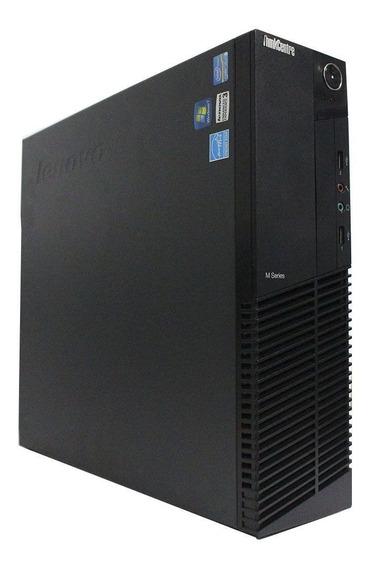 Computador Desktop Lenovo Thinkcenter M92 I5 8gb 120ssd
