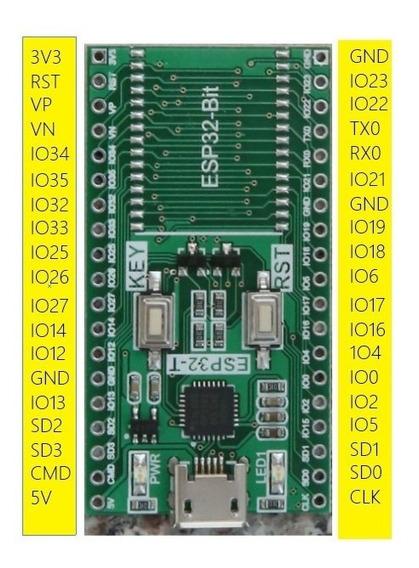 Wifi Adaptador Desarrollo Esp32 Esp32s Usb Cp2102 Itytarg