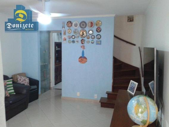 Sobrado Residencial À Venda, Casa Branca, Santo André. - So1935