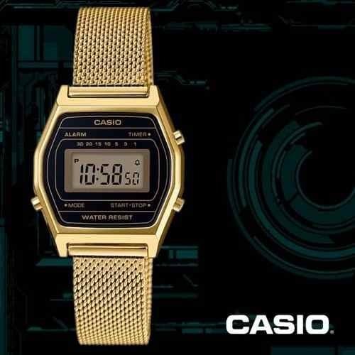 Relógio Vintage Casio La690wemy-1df Dourado