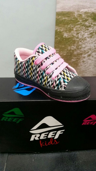 Zapatillas Reef Estampada Nena. Talle 22 Al 28