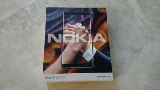 Nokia 8 Sirocco 5.5 Android 10 128gb Mem 6gb Ram 12mp Cam