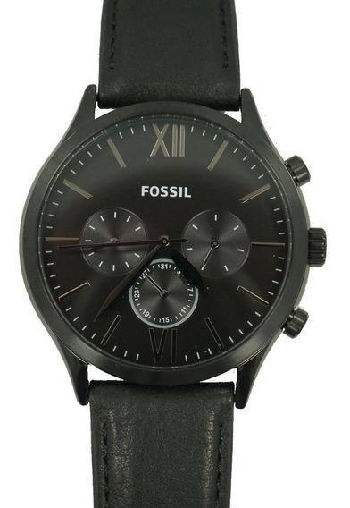 Reloj Fossil Correa Cuero Hombre Original (bq2360)