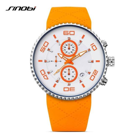 Reloj Sinobi 9739 Cronógrafo Hombre