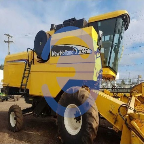 Colheitadeira New Holland Tc 57 Ano 2009/2010