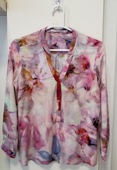 Camisa Feminina Shoulder Tamanho 36 Original Usada Colorida