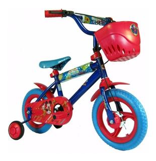 Bicicleta Infantil 12 Rueditas Mickey Unibike Babymovil