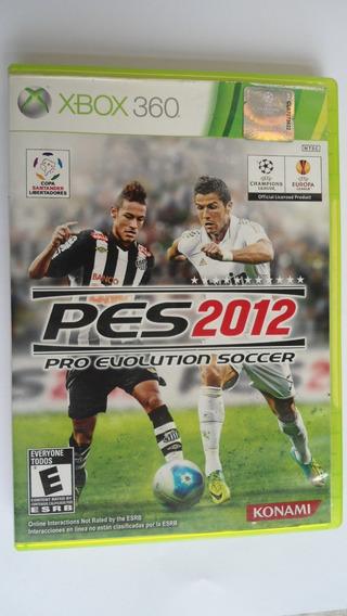 Pes 2012 Pro Evolution Soccer Konami Xbox 360 Neymar Santos