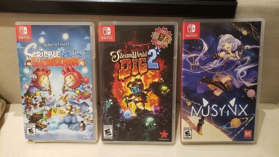 Lote De Jogos Para Nintendo Switch