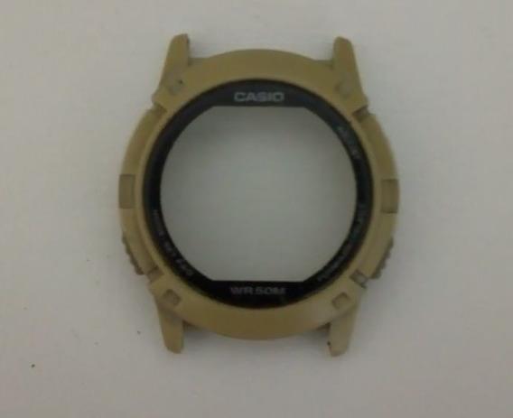 Caixa Com Vidro E Botões Casio Abx-20 Usada