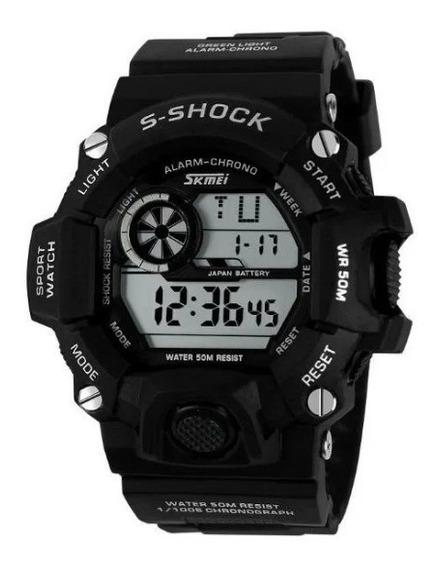 Relógio Masculino Skmei Digital 1019 Preto