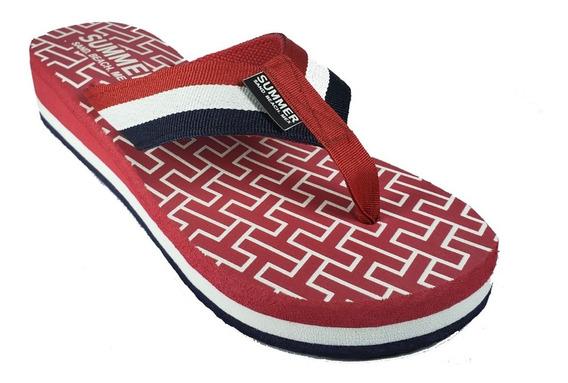 Sandalias Summer Dama Plataforma Tipo Tommy Maximo Confort