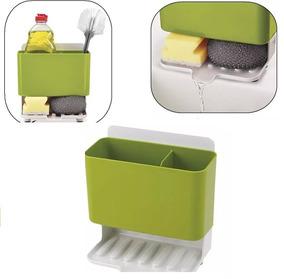 Suporte Organizador Porta Detergente E Esponja Pia Sabão