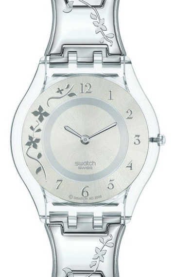 Relógio Swatch Climber Flowery - Sfk300g - Novo Lacrado