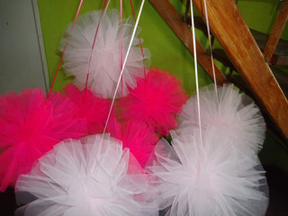 Pompones De Tul