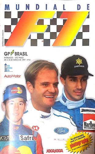 Guia Do Gp Brasil De F 1 -1997 Automotor