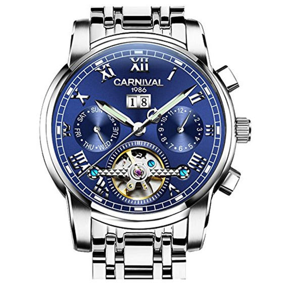 Carnival Carnival Mens Tourbillon Automatic