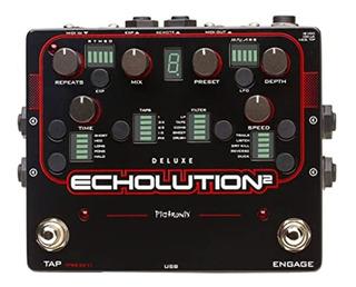 Pedal De Efecto Pigtronix Delay Echolution 2 Deluxe