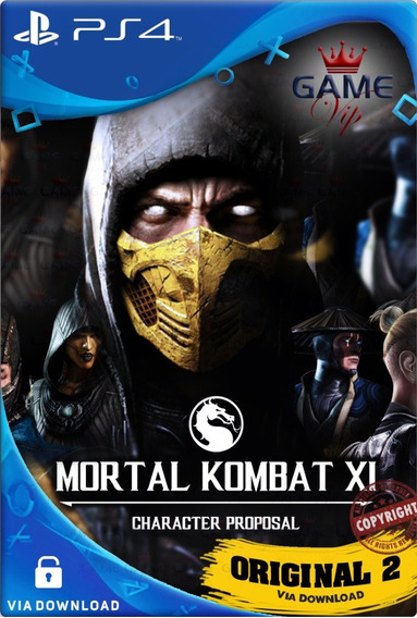 Mortal Kombat Xl Ps4 Digital Cod2 Psn Envio Imediato