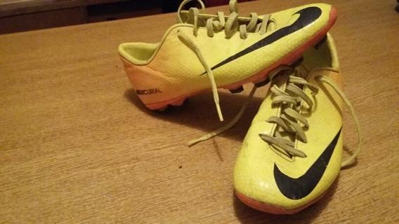 Botines De Futbol Nike Mercurial Talle 35