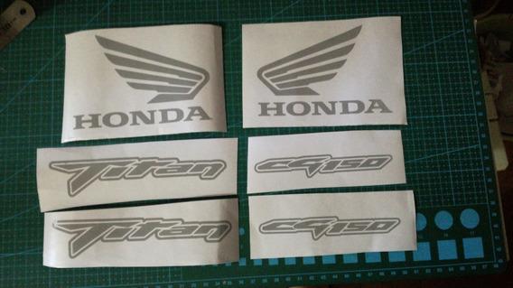 Calcos Honda Cg Titan 150