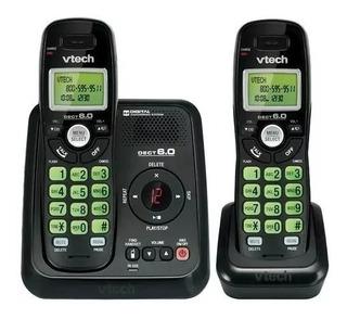 Telefono Inalambrico Vtech Doble 6124 Con Id Y Contestadora
