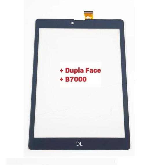 Tela Vidro Touch Tablet Tab Fácil Dl Tx385bra Tx385 Tx389