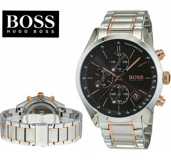 Relógio Masculino Hugo Boss Grand Prix 1513473 Completo