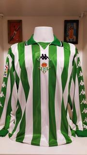 Camisa Real Betis Kappa 1999 Luis Fernandez