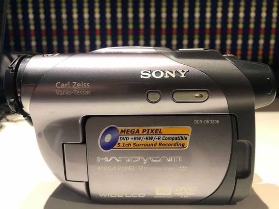 Filmadora Sony Handycam Dcr-dvd305
