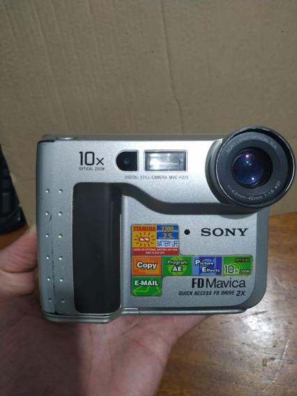 Câmera Digital Mavica Sony Mvc-fd75 (para Colecionador)