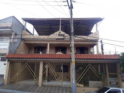 Imagem 1 de 30 de Sobrado Com 4 Dormitórios À Venda, 413 M² Por R$ 800.000,00 - Jardim Almeida Prado - Guarulhos/sp - So0501