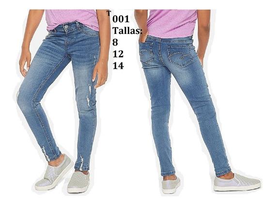 Ropa Justice Pantalon Jean Tallas 8 10 12 14 16 Y 18