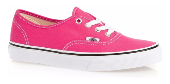 Zapatillas Vans Mod Authentic Fucsia!!! Ultimos Pares