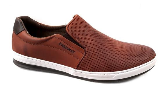 Zapatilla Pancha Hombre Freeway Easywear Input 100% Cuero