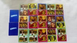 Colección Oreo Cards Tarjetas Shrek Fiona Solo Lote