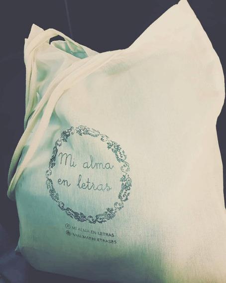 Tote Bag Mi Alma En Letras