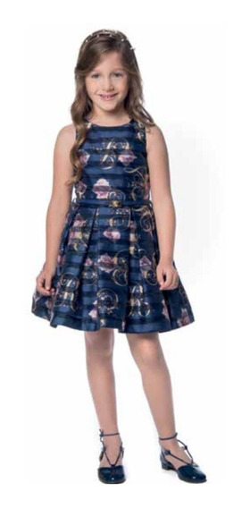 Vestido Petit Cherie Festa Infantil 10.12.31124