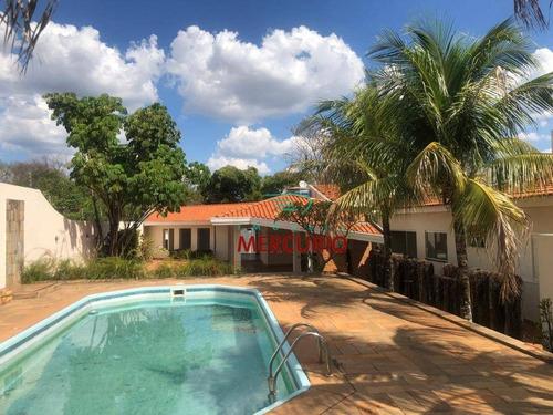 Casa Com 4 Dormitórios À Venda, 600 M² Por R$ 1.800.000,00 - Parque Jardim Europa - Bauru/sp - Ca3142