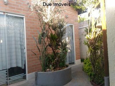 Ca01001 -linda Casa No Jardim Bela Vista, Muito Agradável, Super Arejada,local Tranquilo, Com Terreno De 250 M² E Sendo 91m² De Construção. - Ca01001 - 4843133